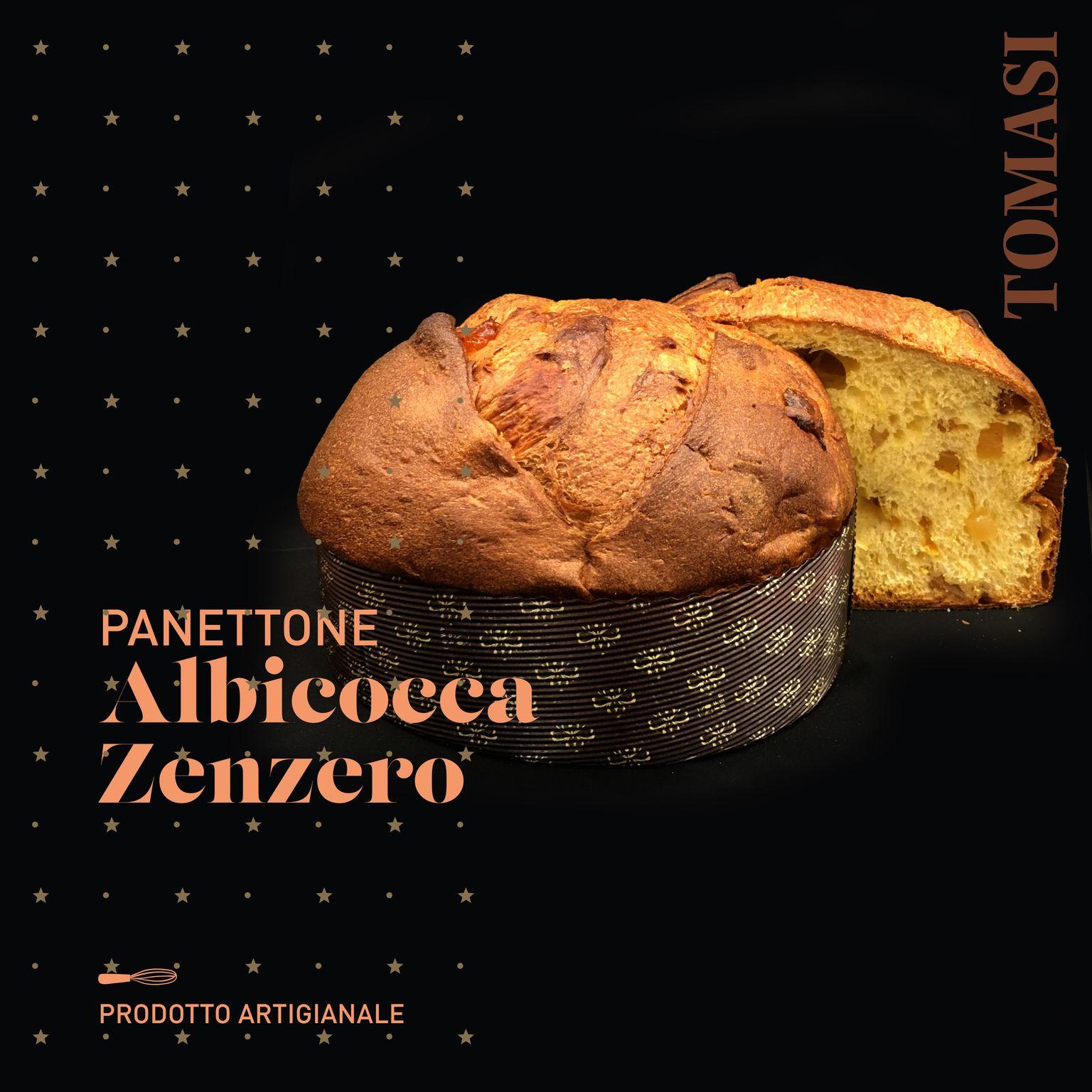 Panettone Albicocca e Zenzero - 750g