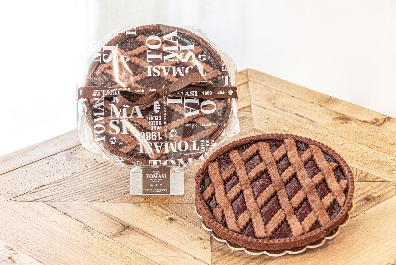 Crostata al Cacao e Lampone