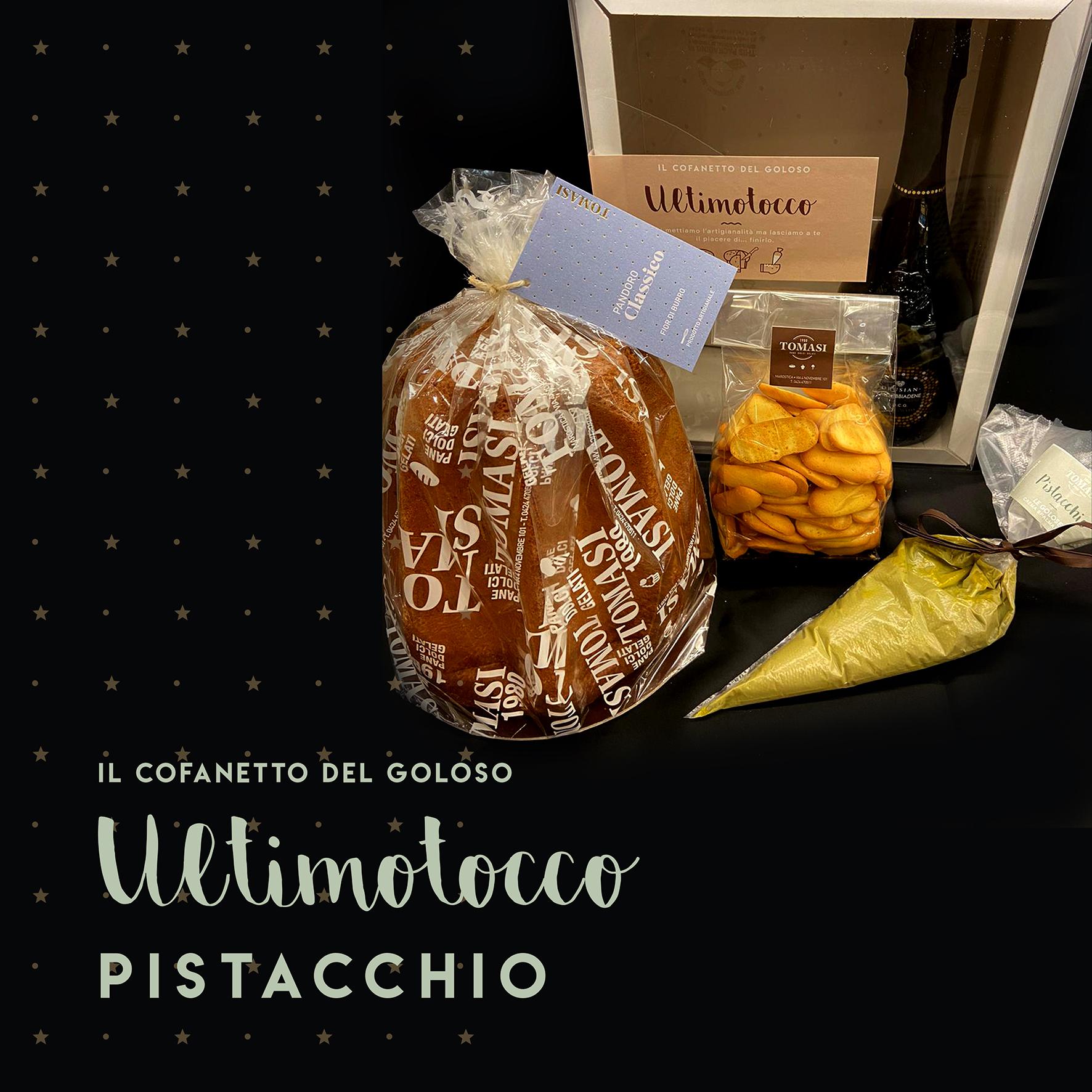 Cofanetto Pandoro e Pistacchio