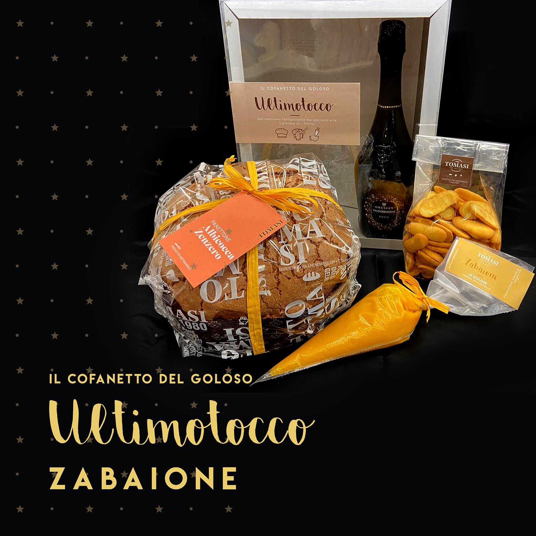 Cofanetto Albicocca e Zenzero con Zabaione